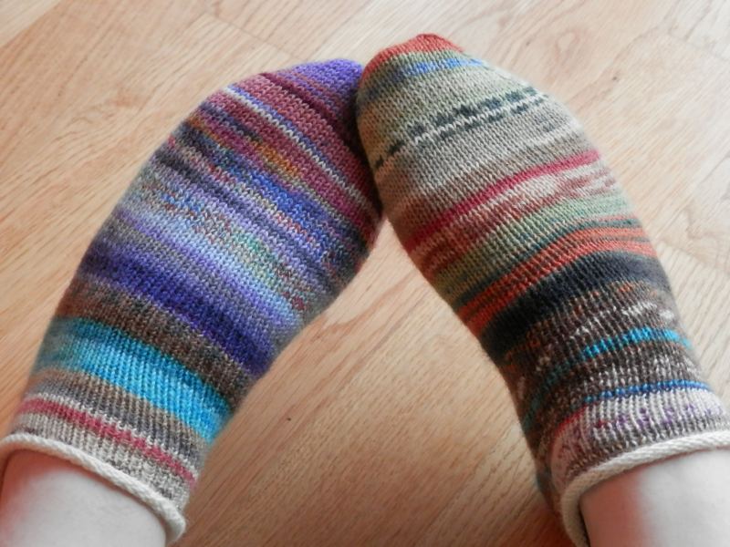 #144 frankensocks 25-26